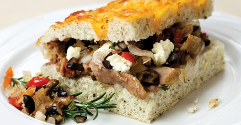 Tuscan Duck Sandwich