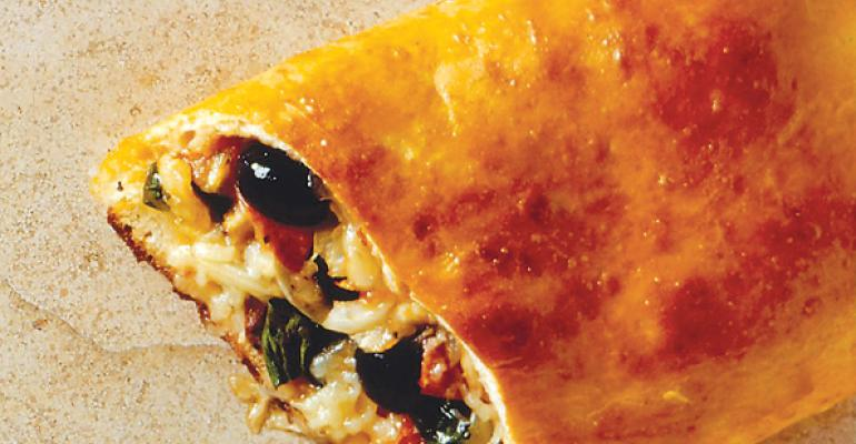 Baked Pizza Wrap