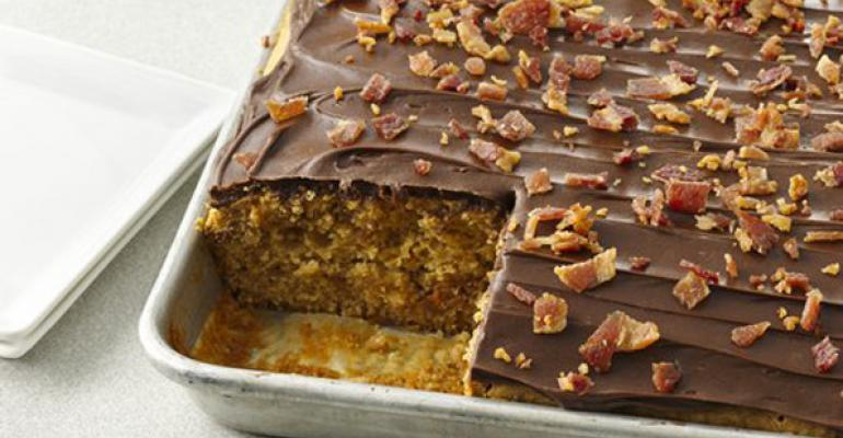 Peanut Butter & Bacon Cake