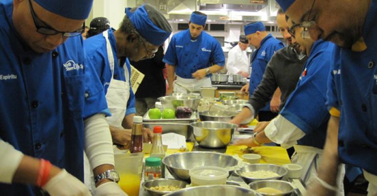 Chefs hard at work at North ShoreLong Island Jewish Medical Center
