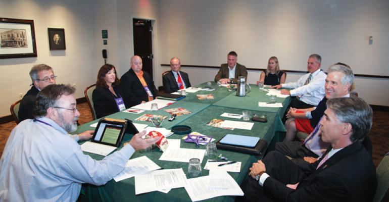 Onsite leaders gather for the MUFSO roundtable at the FM 2013 Best Concepts Summit
