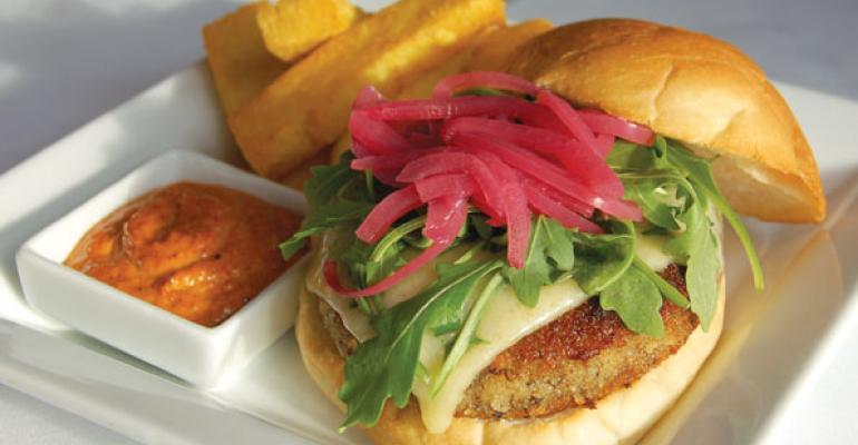 Chef Demo: The Perfect Mushroom Burger