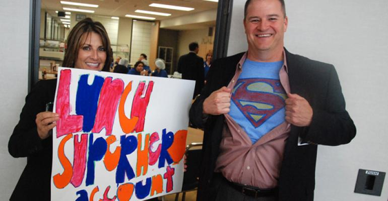 Contributors to CypressFairfield ISD39s alternate lunch fund are superheroes to the community