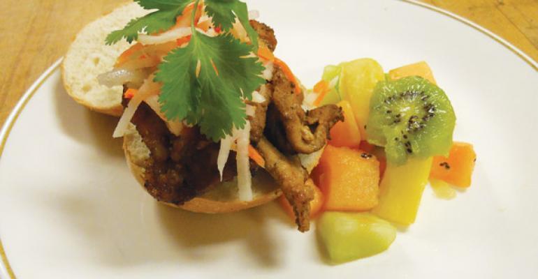The Vietnamese Pork Sandwich