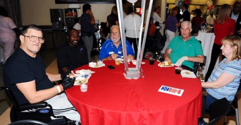 James A Haley VA Medical Center39s new American Heroes Cafe gives patients the choice of having lunch together or with their families in a casual type restaurant setting
