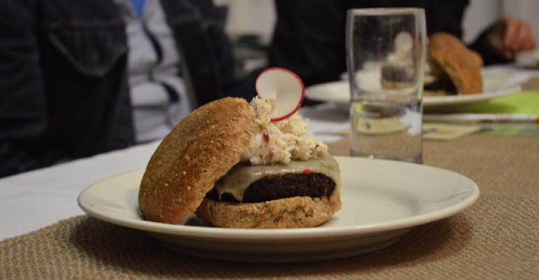 BBQ Tempeh Temptation Burger