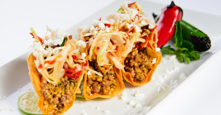Middle Eastern Lamb Tacos with Greenwheat Freekeh