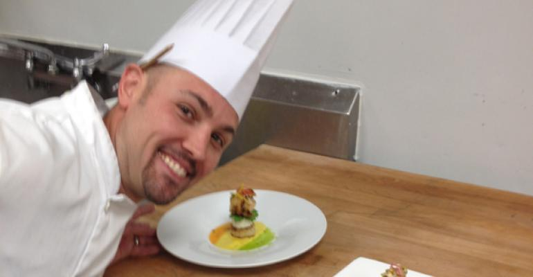 Brendan Kobzan knows how to win at cooking