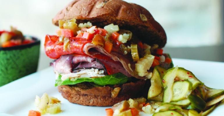 Sandwich of the Month: The Juniper Grinder