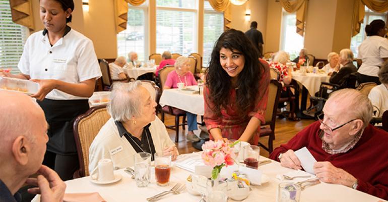 Celebrity Chefs Spice Up Senior Living Communities