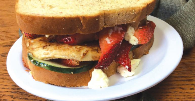 Sandwich of the Month: The Greek Special