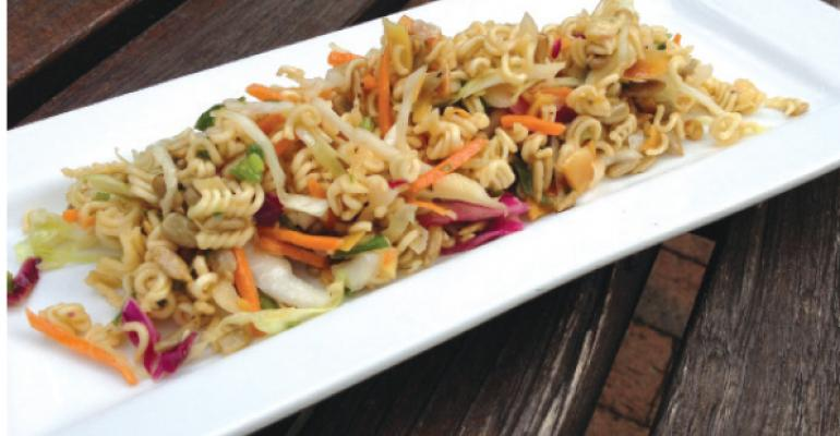 Crunch Crunch Ramen Salad