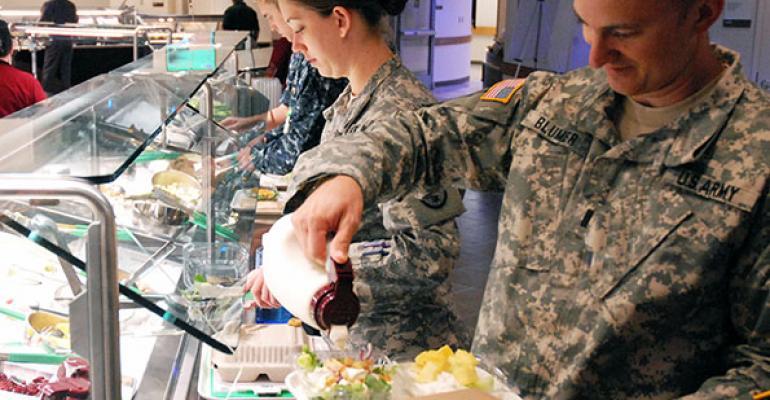 Reworking Dining at Walter Reed