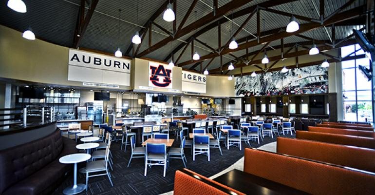 Auburn Attracts Athletes with Dedicated Dining Hall