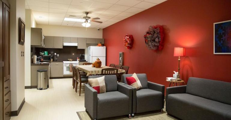 Texas Tech39s Burkhart Center Transition building includes a mock apartment with a fully equipped kitchen to help autistic clients learn living skills and prepare for jobs