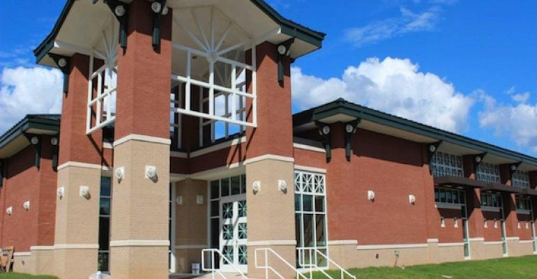 The new 21000square foot dietary center on the East Mississippi State Hospital main campus centrally produces meals for two onsite dining rooms and two satellite sites