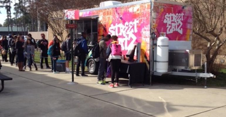Sodexo's Food Truck Concept Rolls into Rock Hill Schools