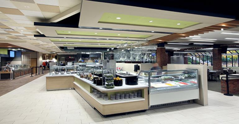 The recently renovated Phelps dining center at Hope College in Holland Mich which has been a CDS client since 1990