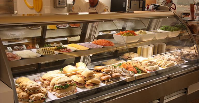 The Euro Deli at the CulinArt operated Bayside Cafe at Intuit