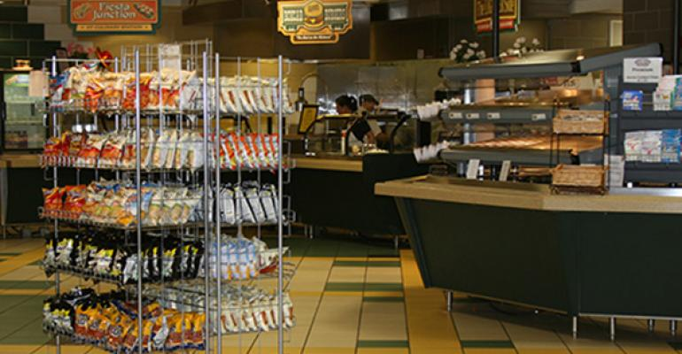 The Questassisted redesigned cafeacute at Carmel Ill Catholic High School