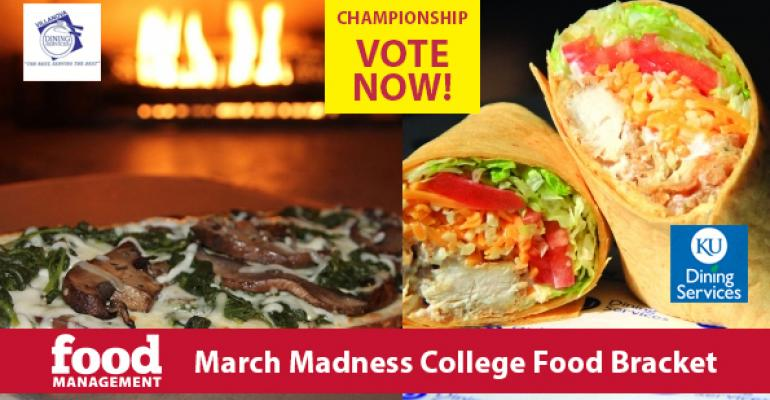 March Madness: The College Food Bracket: The Finals