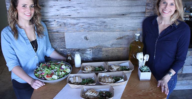 Sifted cofounders Jessica Legge l and Kimberley Lexow look to provide companies with employee pleasing special lunch events