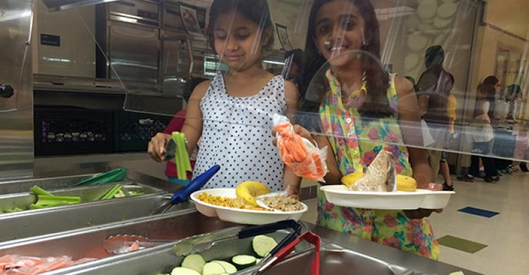 Itrsquos all about the veggies The Active Learning Elementary School went completely vegetarian in the 20142015 school year Prior to that the vegetarian items were gradually added to the menu