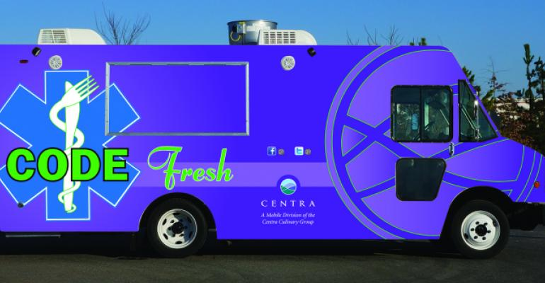 Centra debuts new and improved food truck
