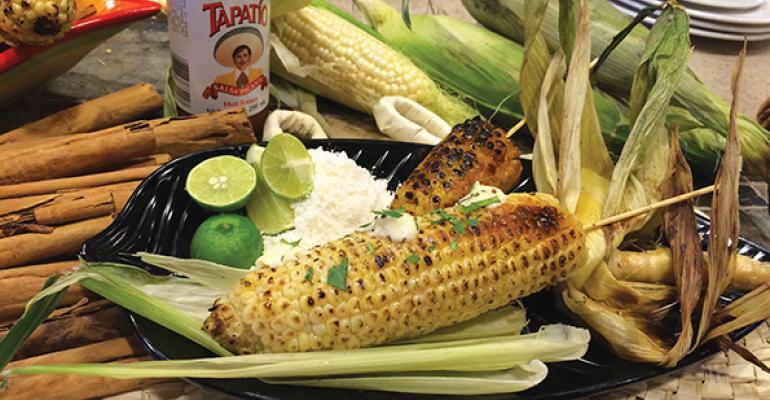 SAN DIEGO STREET STYLE Mexican street corn makes the scene at the University of San Diego