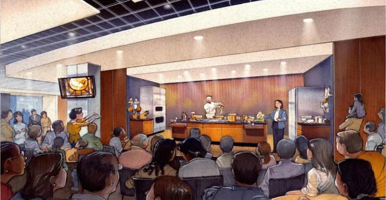 Artist39s conception of the new demo kitchen to be unveiled July 3 at the Smithsonian39s National Museum of American History