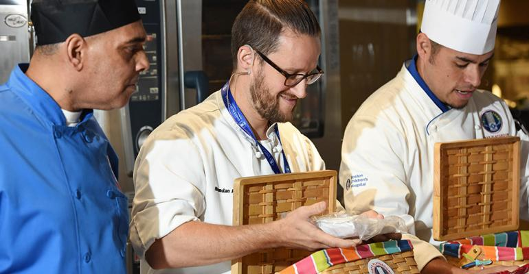 Chefs play at Boston Children's Hospital café opening