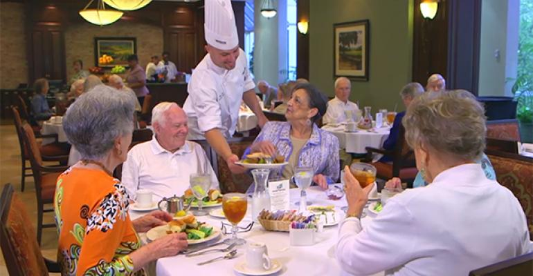 DINING WITH DIGNITY Many factors can affect the individual experience of a senior who39s living with dementia or other impairments That means the food the environment and a knowledgeable staff can all make a difference