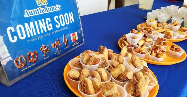 An Auntie Anne39s unit will be one of the new concepts debuting at Liberty this fall