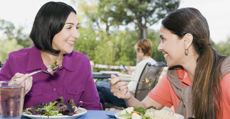 Salads are up 65 percent in one year in terms of appearances on menus at BampI dining sites per Technomic39s MenuMonitor