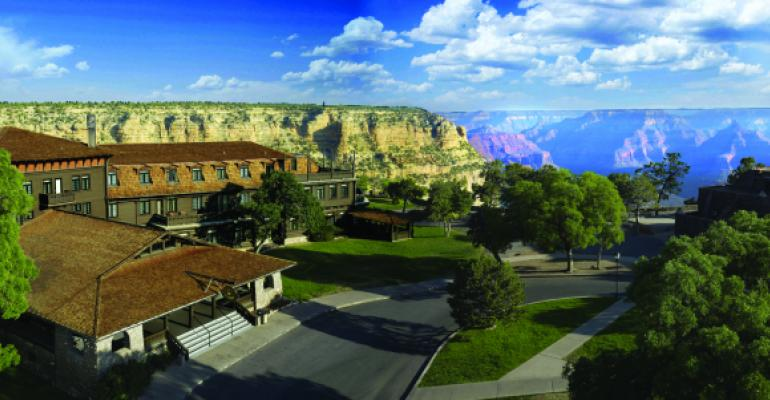 The El Tovar Hotel is one of the oldest properties at Grand Canyon that has been operated by Xanterra and its predecessor companies since 1905