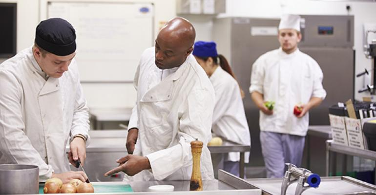 Mise en Place: Why personal attention is key in training