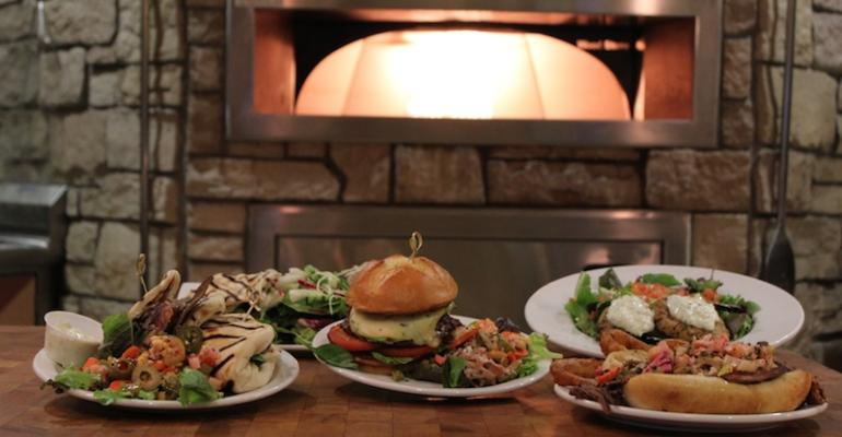 Some of the dishes served recently at Montrose Hospital39s Lobby Grille restaurant which have drawn customers from nearby businesses and offices to the eatery
