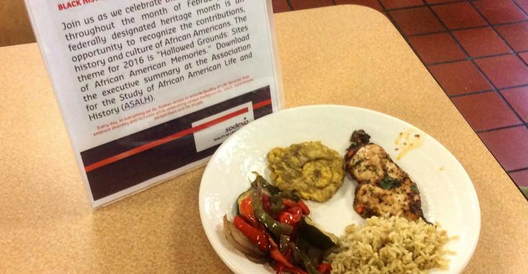 Cool recipe alert: Caribbean jerk chicken with coconut rice and tostones