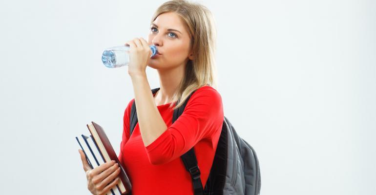 Survey: Bottled water tops Gen Z beverage consumption