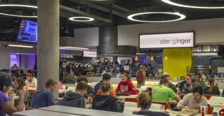 UMass39 recently renovated Blue Wall complex is just the latest addition to the school39s popular dining environment