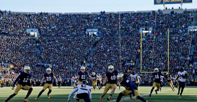 Levy adds Notre Dame athletics to client portfolio