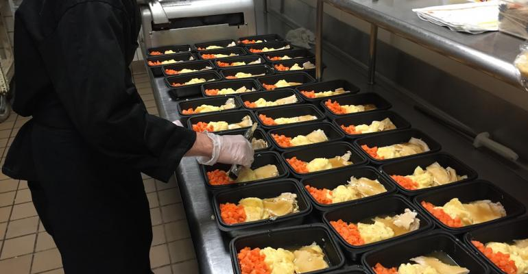 College provides suppers for needy kids in local K-12 district