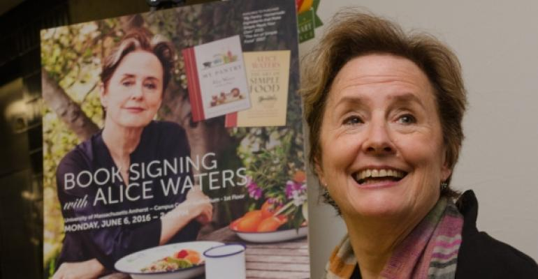 Alice Waters shares her vision of an edible education