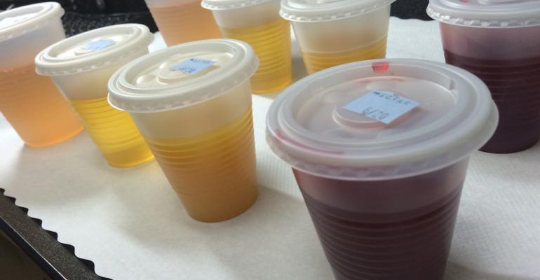Readytodrink thickened beverages await residents at Amsterdam Nursing Home in New York City