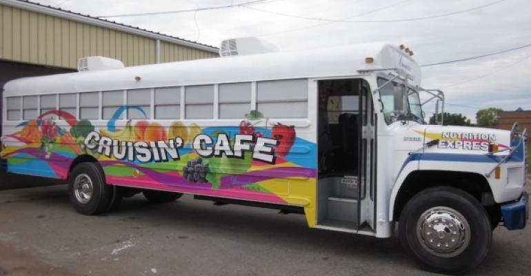 Bus does double duty for school nutrition program