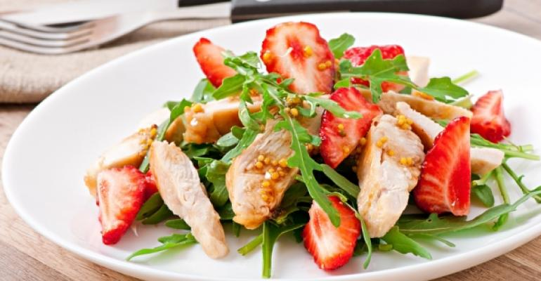 Catering to summer tastes with leaner menus