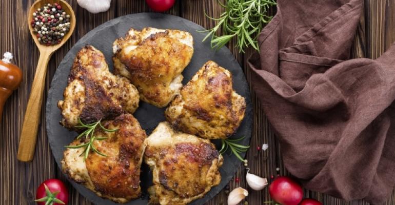 Broadening the menu with underutilized chicken cuts