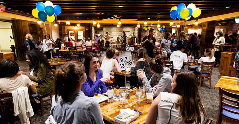 Rollins College campus pub