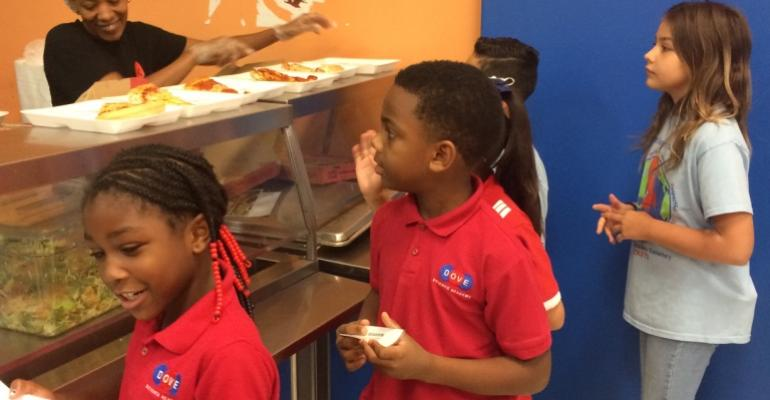Nearby kitchens, contract company rescue charters' meal program