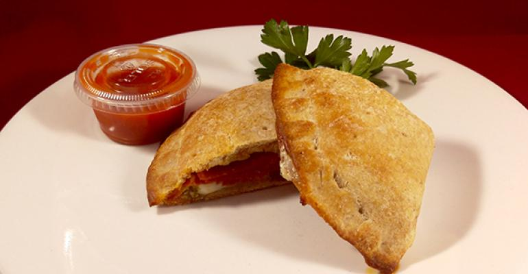 Cool recipe alert: Jalapeno-pepperoni panino